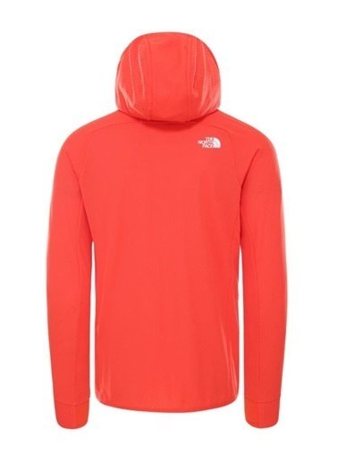 The North Face Summit L2 Fleece Kapüşonlu Erkek Sweatshirt Kırmızı Renkli
